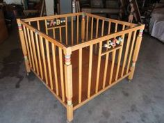 Old=school playpen