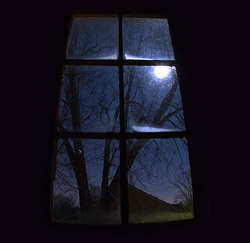 Window at night
