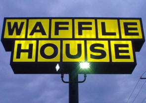 Free wedding-day meals at Waffle House.