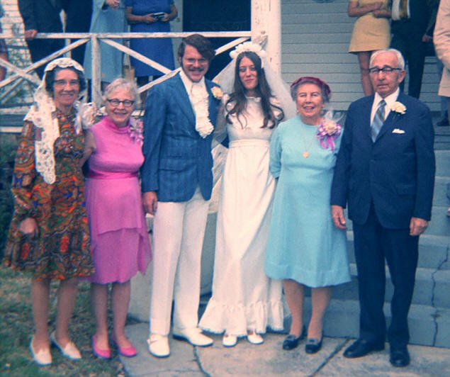 Meet the Parents: Dorothy Brown (Gramma), Edna Cilwa (Mom), Paul, Mary, Agnes Steinberg, Herbert Steinberg