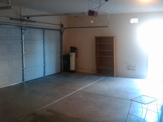 Garage, double bay