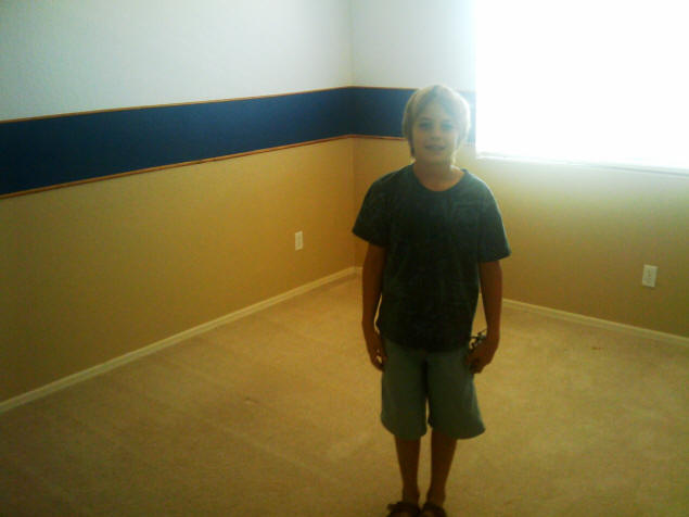 Zach's room before we moved in.