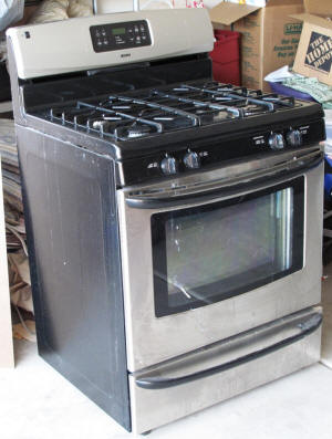 For sale: The old stove.