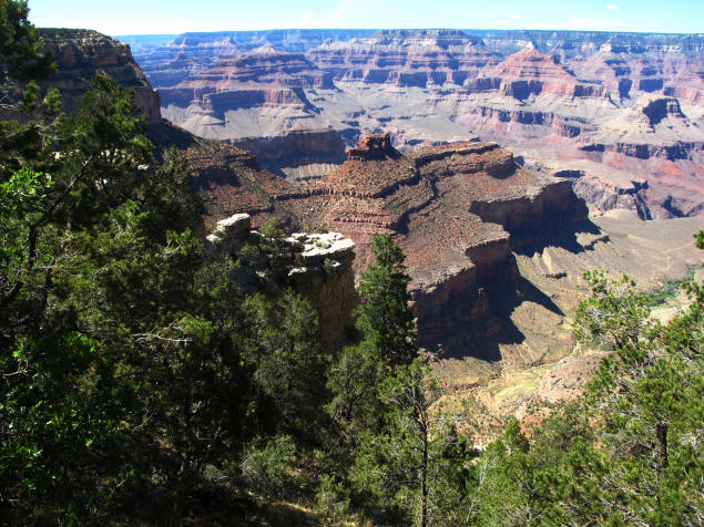 Grand Canyon from Rim Trail.