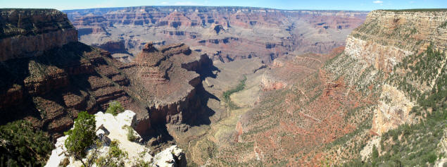 Grand Canyon panorama.