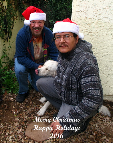 Merry Christmas from Paul, Keith and Ella!