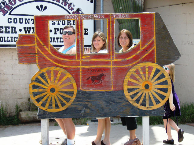 Michael, Jennifer and Mary consider alternate means of transportation.
