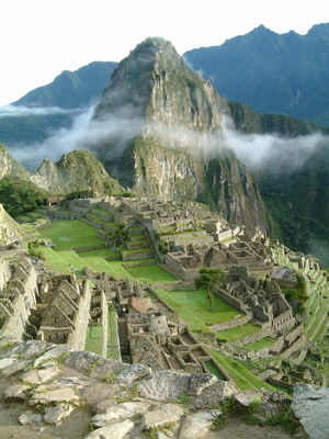 Macchu Picchu, the 'Lost City of the Incas'