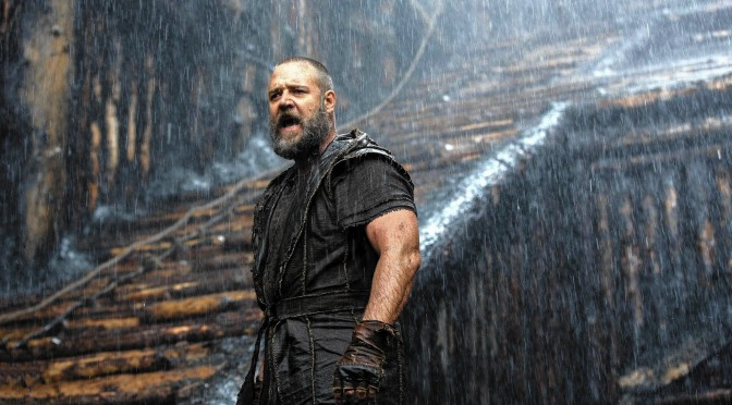 Russell Crowe as the put-upon Noah.
