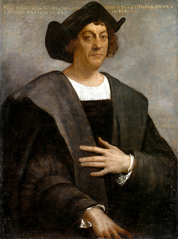 Portrait of Columbus, but he wouldn't recognize himself.