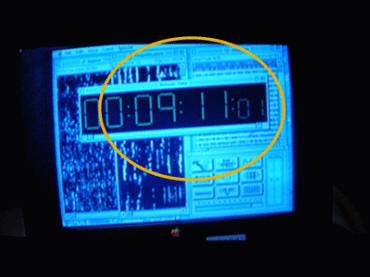 Independence Day's computer readout displays '9-11'