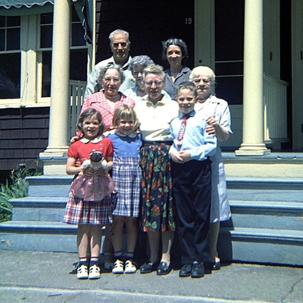 Mary Joan, Mrs Cox, Mr Miller, Louise, Mrs Miller, Mom, Gramma, Paul, Aunt Edna