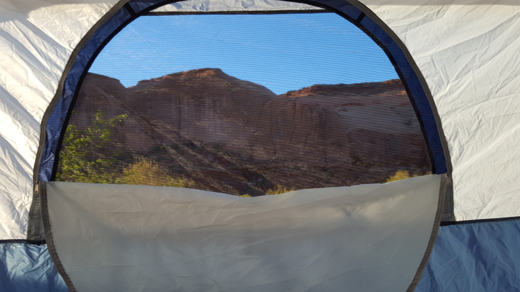 Day 2: View From The Tent